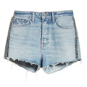 NWT GRLFRND Cindy High Waist Denim Shorts